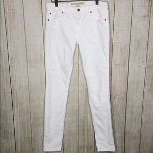 French Connection Skin Tight White Skinny Jeans